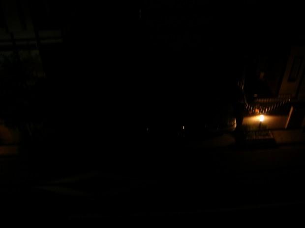 光源が無い状態