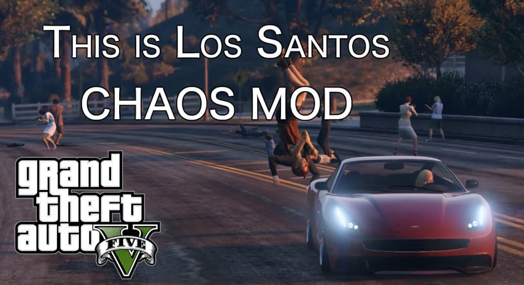 GTA5 カオスMOD - THIS IS LOS SANTOS
