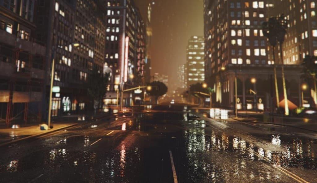 GTA5の画像が実写レベルで美しい。リアルかゲームか分からない。