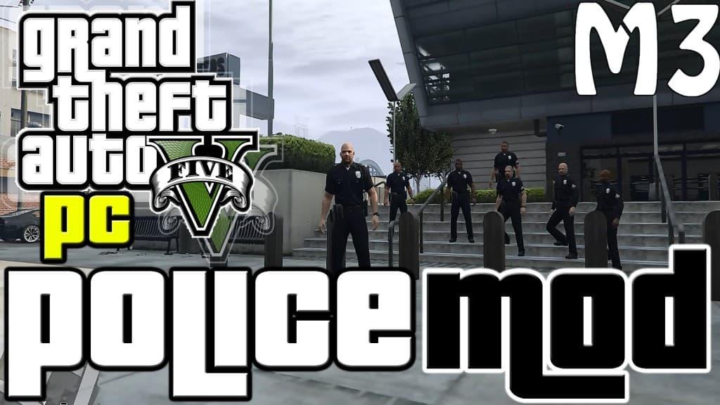 GTA5に警察となってプレイできるMOD「SAPD:FR」が登場