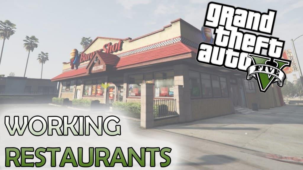 GTA5 PC版 レストランを使える様にするMODが登場