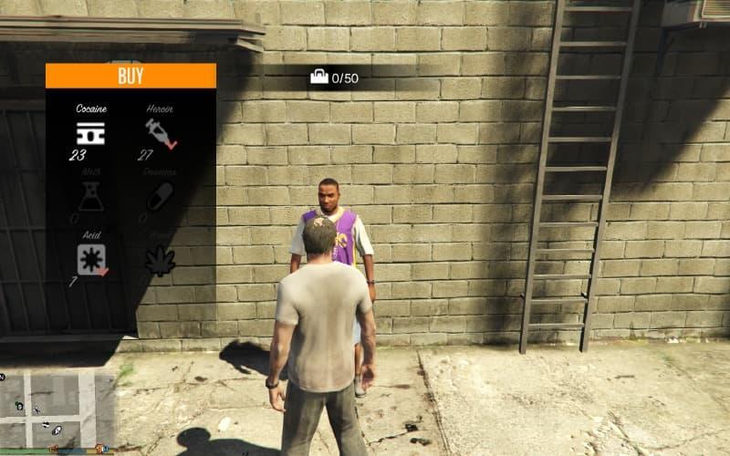 GTA5 PC版 違法薬物の売買が可能になる「薬物取引MOD」