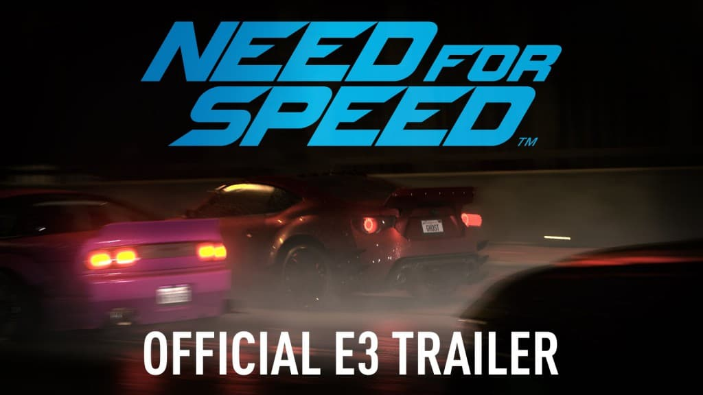 【E3 2015】Need for Speed 最新作のトレイラーが完全に実写
