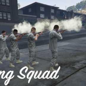 GTA5 PC版 NPCを処刑にかけることが出来るMOD「Firing Squad」
