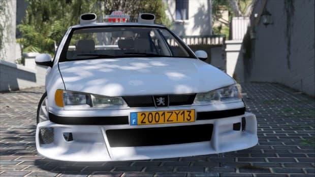 GTA5 PC版 映画「Taxi」で有名なプジョー 406のMODが登場
