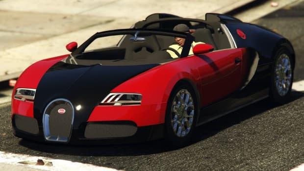 GTA5 PC版 ブガッティ・ヴェイロン Grand SportのMODが登場