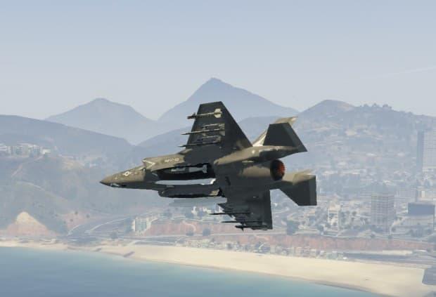 GTA5 PC版 F-35B Lightning IIがMODで登場