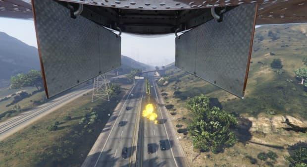 GTA5 PC版 飛行機から無差別爆撃を行えるスクリプトMODが登場