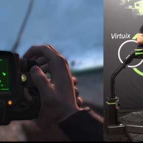 Fallout4の世界を実際に歩き回れる本格VRプレイ