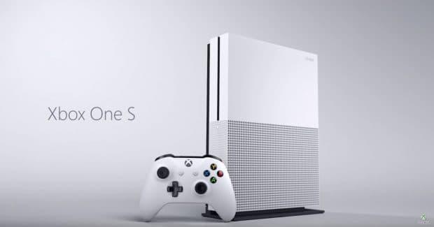 Microsoft「Xbox One S」を発表!従来よりも40%小型化して8月に299ドルで発売