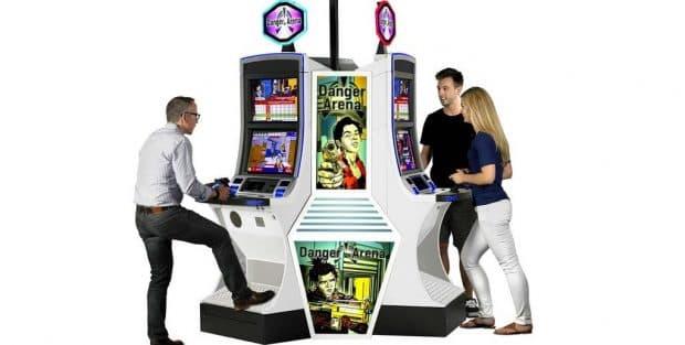 カジノにFPSのビデオゲーム型ギャンブルマシンが今秋登場!