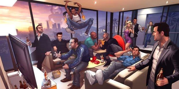 GTA6の発売日は2018年か