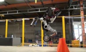 時代はターミネーター!ボストン・ダイナミクスのロボット「Handle」の運動性能がすごすぎる