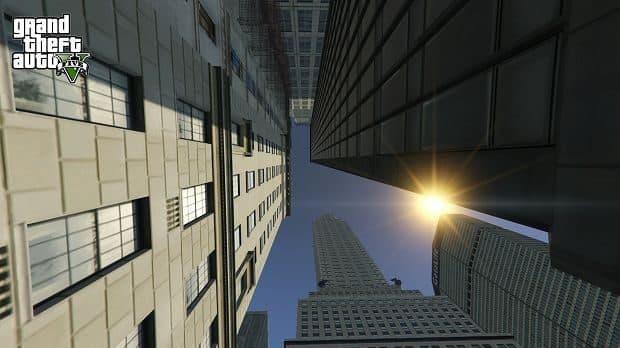 公開された「Liberty City in GTA V」のスクリーンショット