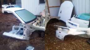 盗まれた愛車(BNR34)がぶった切られてバラバラの姿に!絶対に許せない自動車盗難被害