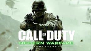単体版「Call of Duty: Modern Warfare Remastered」が正式発表!ステンバーイ… ステンバーイ… ゴッ!