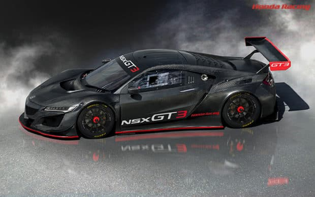 ホンダ ハイブリッドを排除した真のレース専用「NSX GT3」を発売!お値段は約6,000万円