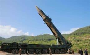 北朝鮮が弾道ミサイルを発射!日本のEEZ内に落下か!今年12発目の発射