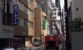 【速報】東京・秋葉原駅付近で火災発生!東京は建物密集しすぎだよね