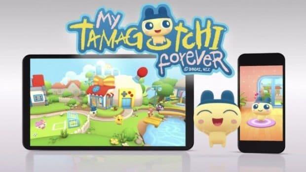 スマホ版「たまごっち(My Tamagotchi Forever)」先行配信開始!
