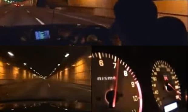 日本の公道でストリートレースしている走り屋の動画 まとめ