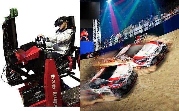 タミヤ×GAZOO RacingコラボのHMD使用リアルRC走行シミュレーターが超面白そう!SHIBUYA SPORTS CAR FES 2017で体験出来る