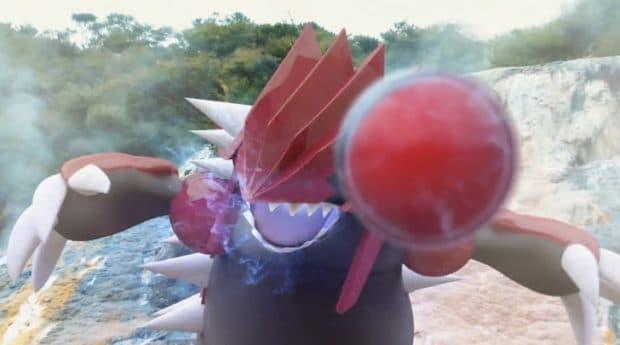 ポケモンGO 伝説レイド・グラードン捕獲のコツを動画で紹介!捕まえ方を予習しよう