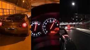 R35 GT-R暴走系Youtuberが280km/hのスピード違反で書類送検 公式公道最高速記録を大幅に更新
