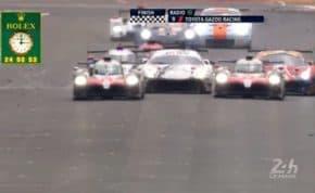 耐久レース「ル・マン」トヨタがついに悲願の初優勝 日本車・日本人ドライバーでの初制覇達成