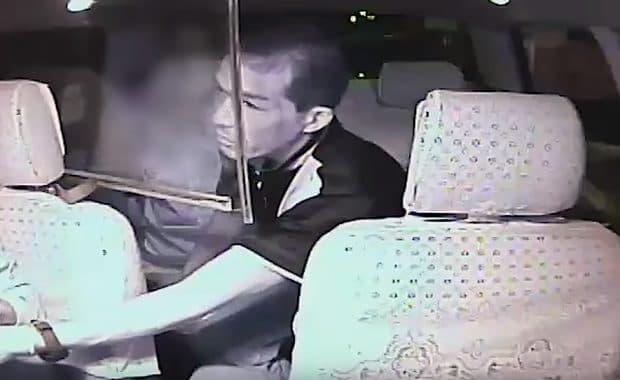 川崎市で発生したタクシー強盗事件の車載動画が公開 笑顔で会話後に犯行するサイコパス感
