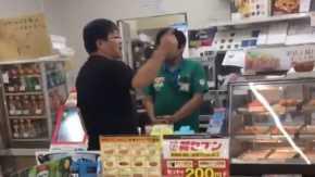 セブンイレブン土浦田中店で子供に酒を買わせようとした客が拒否されてブチギレ