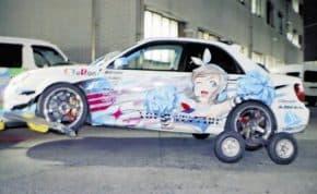 静岡県で「ラブライブ!」南ことり・渡辺曜仕様の痛車がひき逃げして逮捕 ただし接触の有無は不明