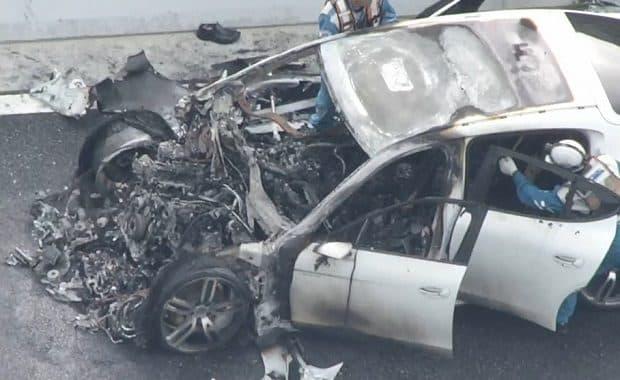 兵庫・阪神高速道路で200kmhのレースをしていたポルシェとBMWに巻き込まれた死亡事故 医師の運転手は無免許