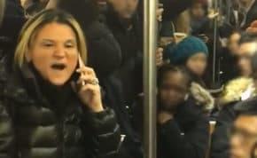 ニューヨーク地下鉄で白人女性がアジア系女性に差別用語使うと乗客達が一斉に大激怒!その後逮捕される