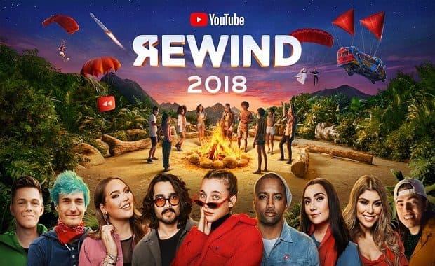 2018年を振り返る「YouTube Rewind 2018」公開!今年は過去最悪の出来だと低評価の嵐