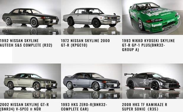 極上「日産 R34 スカイラインGT-R(BNR34)」や「HKS ZERO-R」からレーシングカーまで希少な車がオークションに登場