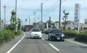 愛知県で逆走してきた暴走プリウスをフルブレーキでABS作動させながら回避!まさにミサイル