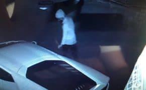神奈川県でランボルギーニ・ウラカンを破壊する男性が出現!複数回被害を受けて動画があっても警察は被害届を受理しない模様