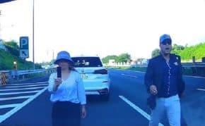 常磐道あおり運転暴行事件で宮崎容疑者と同居する交際相手のガラケーで撮影していた51歳女を逮捕「乱暴にしないで!!」