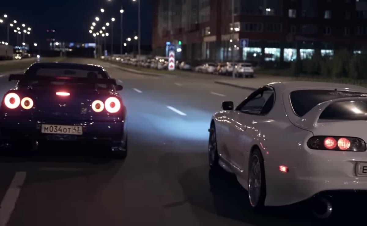リアル版「ニード・フォー・スピード」動画の新作が公開!BNR34・FD3S・スープラなど多くの車種が登場