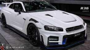 日産・R35 GT-R NISMOに「BNR34」のデザイン要素を加えた2021年モデルのR36 GT-Rコンセプトが話題に
