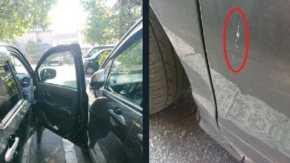 駐車場で隣に車を止める奴にドアパンチしてキズ付けたことを犯罪自慢!「隣に駐車してくる奴が嫌い」