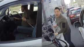 大阪府でバールのような凶器を持ったDQN運転手に襲われそうになるUber Eats配達員!DQN「ひき殺すぞ」