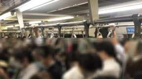 テレワークできる人達がなぜか止めてしまい満員電車が復活!各地で超満員の密空間