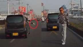 埼玉県越谷市で軽自動車がガスガン乱射しながらあおり運転!前科ありで捜査中も警察は口頭注意か