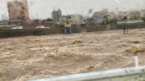 長崎・佐賀・福岡に大雨特別警報発表!現地の大変な被害が続々報告される