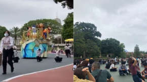 緊急地震速報時の東京ディズニーリゾートのキャスト達が神対応だと話題!ミッキー達も防災対応