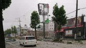 福島県郡山・ファミレス「温野菜」爆発の被害にあった後ろの民家住人が現状の様子を公開