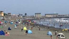神奈川県・湘南の海水浴場が海開き中止でも人が殺到し無法地帯化