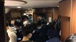 "<span class=""title"">3連休のGOTO旅行で新幹線が満席!自由席は人で溢れかえりギュウ詰め状態</span>"